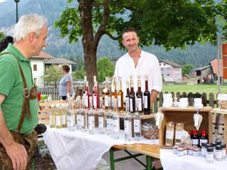 Farmers' Market at Dellach