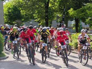 Mountainrace in Dellach