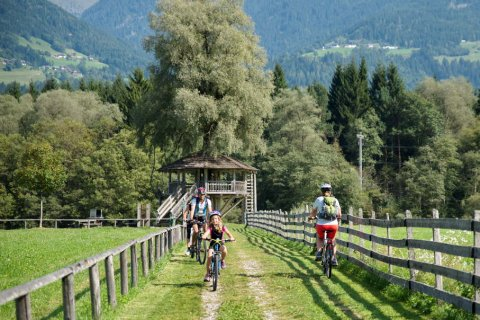 Cycling in Upper Drautal